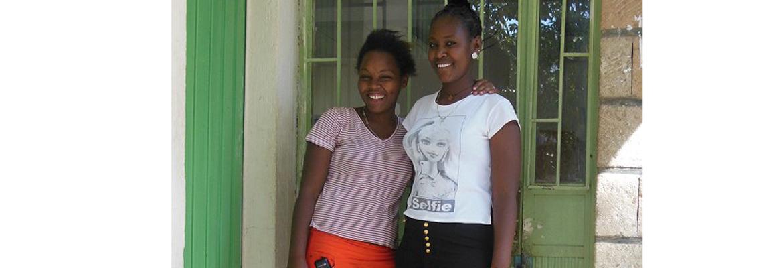 Twee eerstejaars studenten van het Arba Minch Health Science College