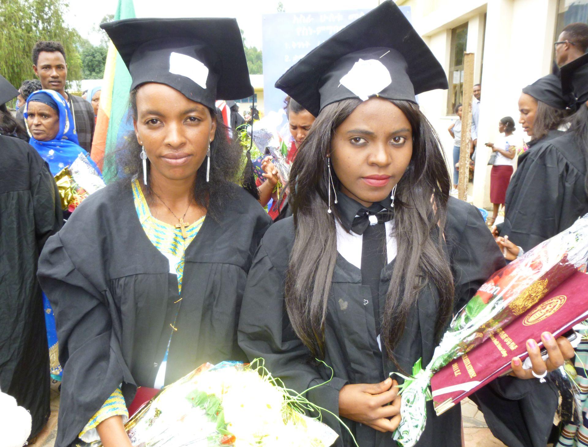 Twee Mizan Aman studenten